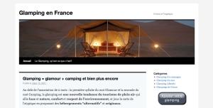 Site du glamping en France